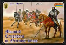 Strelets Models 1/72 MOUNTED CRUSADERS IN ORIENTAL DRESS Figure Set