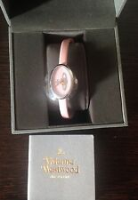 Vivienne Westwood Time Machine Women's VV019LPK Medal Swiss Quartz Pink Watch BN