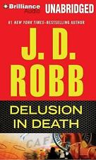In Death: Delusion in Death 35 by J. D. Robb (2013, CD, Unabridged)