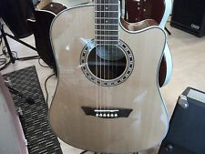 Washburn WD10SCE Acoustic/Electric Guitar. Right Handed, Solid Spruce Top. VGC!