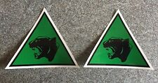 MILITARY LAND ROVER ARMY 19th Light Brigade Decals X2
