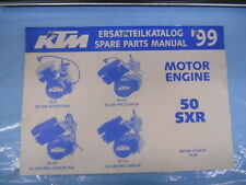 1999 KTM 50 SXR Adventure Pro Junior Senior Se Engine Spare Parts Manual 320463