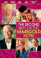 The Second Best Exotic Marigold Hotel (DVD, 2015) NEW SEALED FREE FAST SHIPPING!