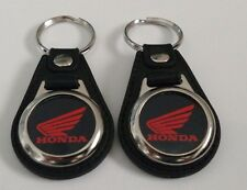 Honda Goldwing MOTORCYLE KEYCHAIN 2 PACK OF FOBS RED
