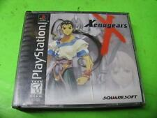 XENOGEARS 1 / I / SQUARESOFT RPG BLACK ~ SONY PLAYSTATION 1 (PS1) GAME COMPLETE