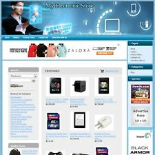 ELECTRONIC STORE - Complete Turnkey Website With Easy-To-Operate Control Panel
