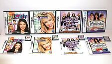 4 NINTENDO DS GAMES CHEETAH GIRLS-WIZARDS OF WAVERLY PLACE-iCARLY-HANNA MONTANA