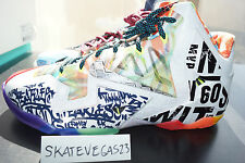 Nike Lebron 11 What the Lebron WTL XI Black Lava Silver Ice 11 Brand New DS