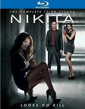 Nikita ~ Complete Seasons Season 1-3 (1, 2 & 3) ~ BRAND NEW 12-DISC BLU-RAY SET