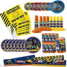 TONKA FAVOR PACK (48pc) ~ Construction Birthday Party Supplies Toys Trucks Boy