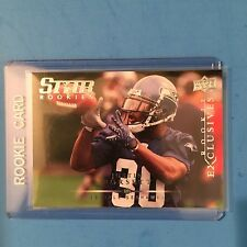 2008 UD Rookie Exclusives #RE30  Justin Forsett RC Ravens  MINT