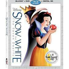 DISNEYS SNOW WHITE (Blu-ray/DVD, 2016,Digital Copy) NEW WITH SLEEVE