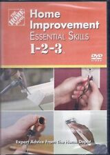 The Home Depot: Home Improvement - Essential Skills 1-2-3 (DVD, 2008) BRAND NEW