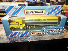 Matchbox Convoy CY-23 Scania Michelin Box Trailer Truck