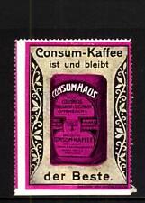 40131/ Reklamemarke - Engelhardt & Seelmann - Consum-Kaffee - Offenbach a. M.