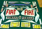 Yamaha Fiat Aerox Rossi MotoGP Decals Stickers Graphics Kit Sized to Fit