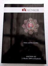 Künker Orden und Ehrenzeichen Auktion 162 Oktober 2009 Osnabrück REF E35 @@