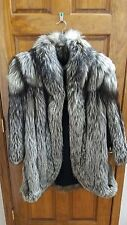 NEW Royal Saga Mink Fox Fur Coat for Women Size 13