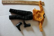 "1/6 Scale Star Trek Uniform with shirt black pants boots for 12"" inch figure"