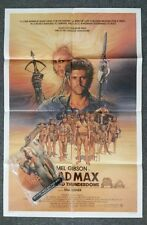 MAD MAX BEYOND THUNDERDOME Poster '85 Mel Gibson Bundled w/Tina Turner Shaped 45