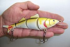 MINNOW SWIMMER FOUR SEGMENT FISHING LURE CRANKBAIT RATTLE BAIT TACKLE 17cm MS6