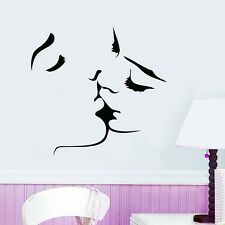 Kissing Love Removable Wall Stickers Wall Decals Wall Art Home Decor Mural AU