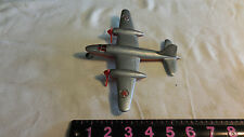 Antique Plastic Toy Airplane Martin B-26 Marauder Hubley 1946 RARE as is