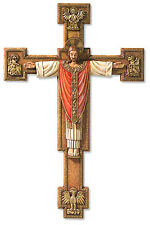 Christus Rex Risen Jesus Christ Wall Cross Crucifix Valgardena Collection