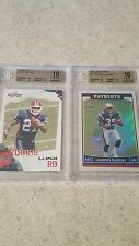 CJ Spiller/Laurence Maroney graded rookie card combo BOTH PRISTINE 10s!!!!!!!!!