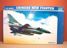 1/72 TRUMPETER CHINESE NEW FIGHTER MODEL KIT # 01611