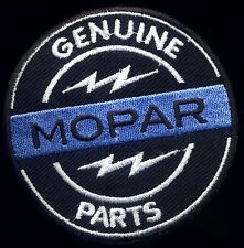 Mopar Patch Badge Genuine Parts Hemi Hot Rod Drag Race Plymouth Chrysler Dodge