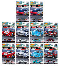 Hot Wheels 1:64 Car Culture Track Day sealed case of 10 Datsun 510 DJF77-956D