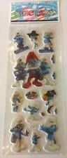 NEW 2 Sheets of Smurfs Puffy Stickers - Parties, loot bags & crafts
