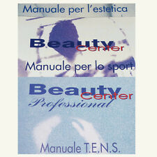 ^BT1 Manuali D'uso Beauty Center Biosan 1000 programmi Sport Estetica Tens