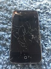 Apple iPod Touch A1367 8gb iPod Silver Cracked Screen
