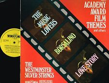 """WESTMINSTER SILVER STRINGS Academy Award Film Themes 12"""" LP Windmill 1972 WMD112"""