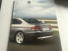 RARE Catalogue brochure Prospekt BMW SERIE 3 COUPE Année 2008 70 Pages