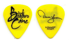 Brother Cane Damon Johnson Signature Yellow Guitar Pick - 2012 Tour