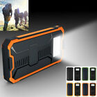 20000mAh Portable Waterproof Solar Charger Dual USB External Battery Power Bank#