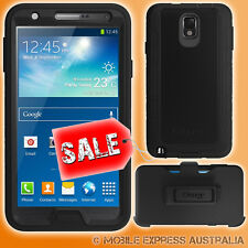 Genuine Otterbox Defender Case Black Suits Samsung Galaxy Note 3 + Belt Clip