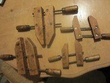 Trade Mark Jorgensen Wooden Clamps - Made in USA - Adjustable Clamp Chicago