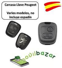 LLAVE CARCASA Peugeot 106 107 206 207 407  MANDO 2 DOS BOTONES HDI XS SW.ESPAÑA