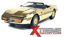 GREENLIGHT 11801-06 24K GOLD 1:18 1986 CORVETTE INDY 500 PACE CAR CHASE DIECAST