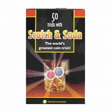 50 TRICKS w/ SCOTCH & SODA BOOKLET ONLY - NO COINS ARE INCLUDED - MAGIC TRICK