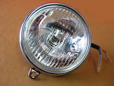 "HONDA S90 CS90 CL90 CHALY CF50 S65 SS50  HEADLIGHT ""CHROME TRIM"""