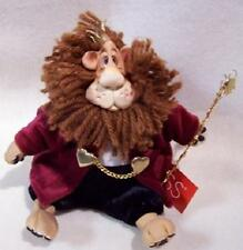 King ROY L. TEA LION by Kathleen Kelly's Critter Factory Russ Berrie New + Box