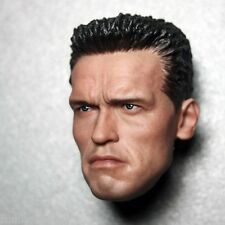 "1/6 Scale Terminator 2 T800 Arnold Head Carving Model Suit For 12"" Action Figure"