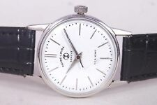 RARE VINTAGE FAVRE LEUBA GENEVE ORIGINAL HAND WINDING MADE SWISS MEN WRIST WATCH