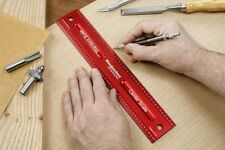 Woodpeckers Precision Woodworking Tools WWR12 Woodworking Rule, 12-Inch
