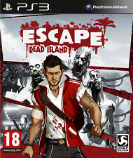 ESCAPE Dead Island PS3 * Nuevo y Sellado *